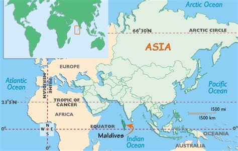 where is maldives located on the world map where are the maldives