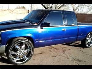 chevy truck on 26s