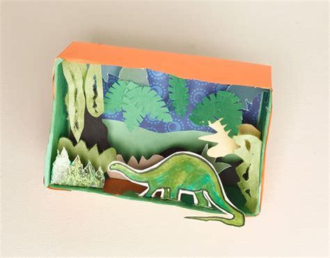 dinosaur craft projects dinosaur diorama craft crayola