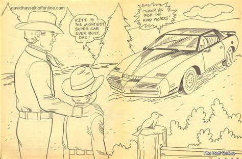 coloring pages knight rider knight rider kitt free coloring pages