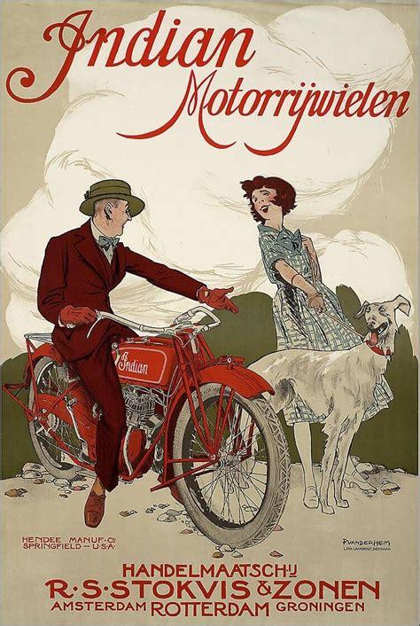vintage motorycle moped advertising  design