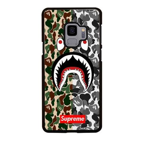 Camo Bape Shark Apparel Custom Iphone Samsung 2bunz melanin poppin aba samsung galaxy s9 best custom phone cover cool personalized