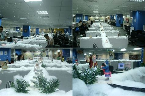 winter decorations for office 1000 images about cubicle and office decor on