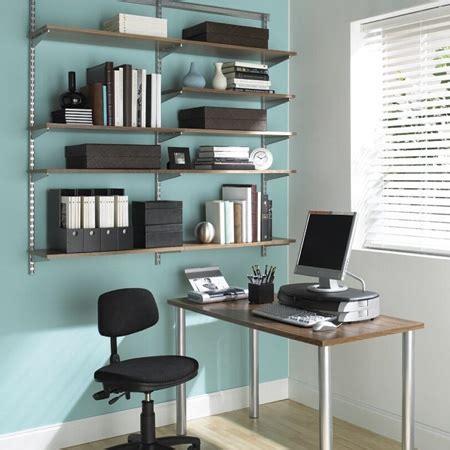 elfa office shelving system remodelista