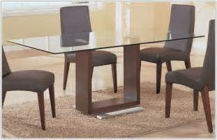rectangular glass top dining room tables glass dining room tables rectangular interior design