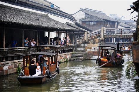 Cincau Tawon Mikro wuzhen una antigua ciudad china de canales destino infinito