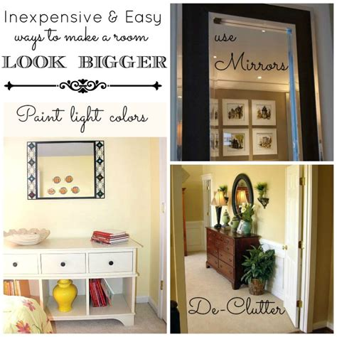 how to make a room look bigger with paint fabulous simple tricks to make your room look bigger