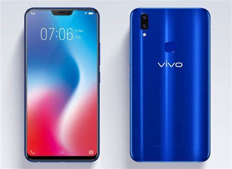 Vivo V9 vivo v9 blue sapphire images appear before official