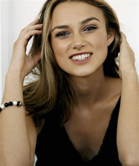 Keira Knightley Refuses To Smile by Keira Knightley Smile Keira Knightley Keira Knightley