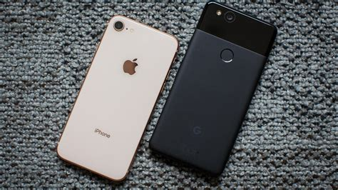 iphone v pixel iphone 8 vs pixel 2 comparison which one s better cnet