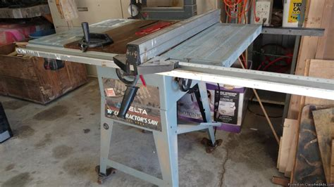 delta table saw for sale delta industrial table saw for sale classifieds