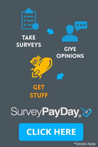 Places To Take Surveys For Money - surveypayday take surveys and make money freestuff com