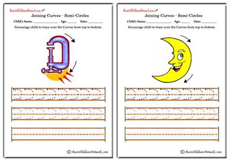 c pattern worksheet for nursery tracing curves to the right aussie childcare network