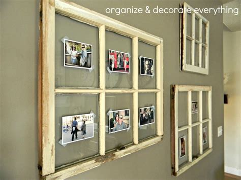 how to decorate your windows decorating with family pictures organize and decorate