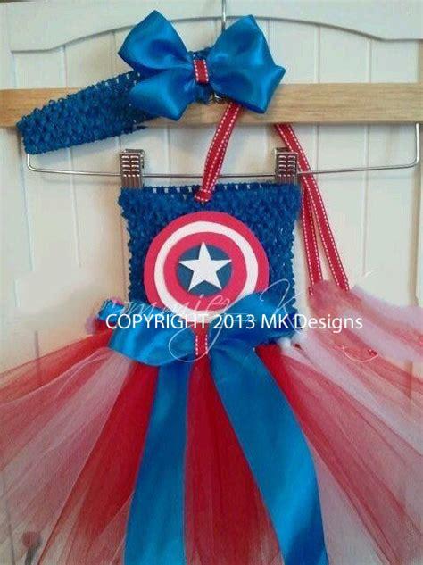 Costume Handmade - handmade captain america inspired tutu costume dress