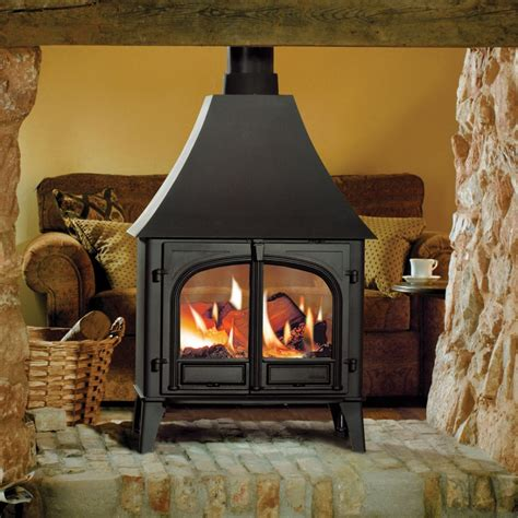 freestanding woodburning fireplace fireplace traditional freestanding fireplace black metal