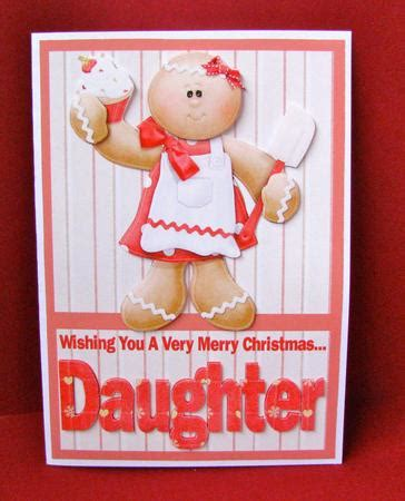 merry christmas daughter  decoupage card cup craftsuprint