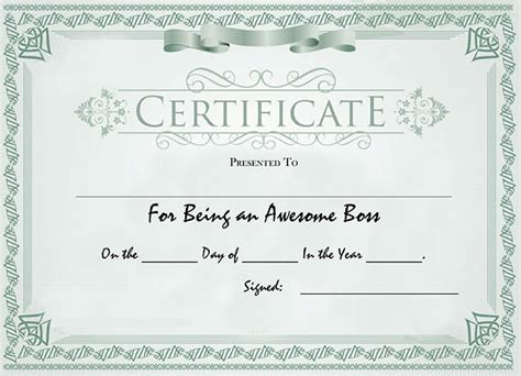 certificate of awesomeness template certificate certificate of awesomeness best 100 images