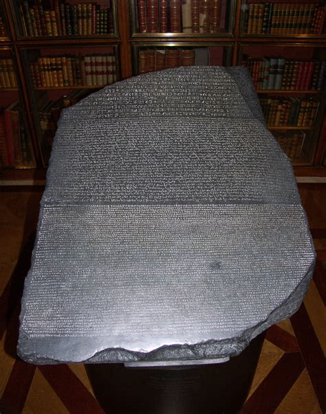 rosetta stone translation how hieroglyphics were originally translated