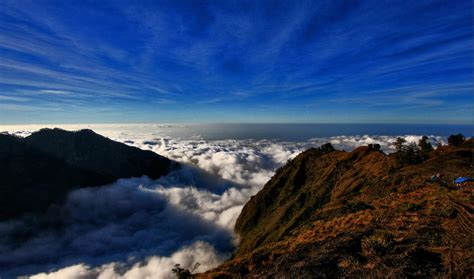 wallpaper anak gunung mount rinjani national park hiking and trekking mount