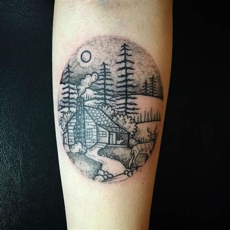 27 awesome picturesque landscape tattoo designs sortra