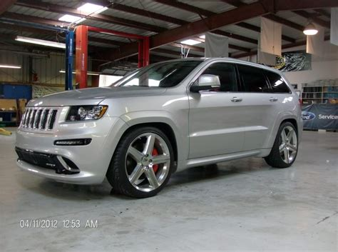 lowered jeep 2012 srt8 jeep lowered 2 quot front 3 quot rear
