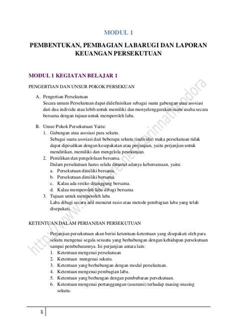 contoh laporan event pembentukan pembagian laba rugi dan laporan keuangan