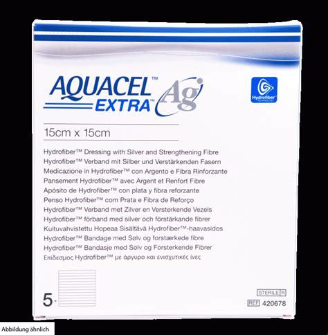 Aquacel Ag 15x15 Berkualitas aquacel ag 15x15cm kompressen 5 st pzn 09508510 72 15