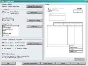 how to customize template customize your quickbooks invoices