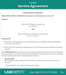agreement template service agreement form free service contract template