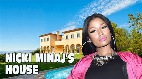 nicki minaj house inside nicki minaj s house tour 2017 youtube