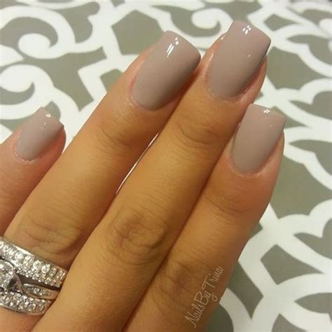 beige color nails dnd gel seasoned beige fashion nails sns