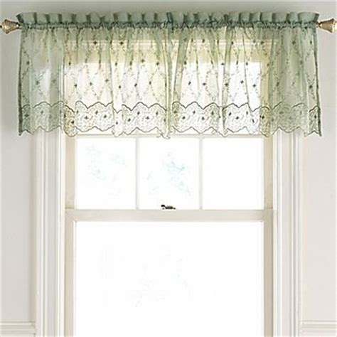 Jcp Valances lisette embroidered valance jcpenney home kitchen and