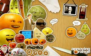 annoying orange and friends by mi principe on deviantart