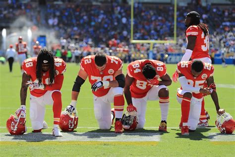 taking a knee nfl nba mlb and entertainment stars take