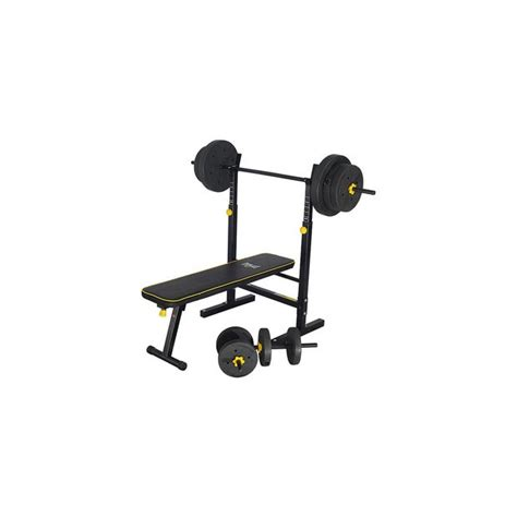 fold away weight bench argos buy everlast folding bench with 50kg weights at argos co