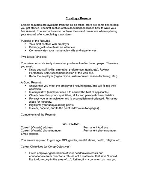 Do Resumes Need An Objective by Do Resumes Need Objectives Resume Ideas