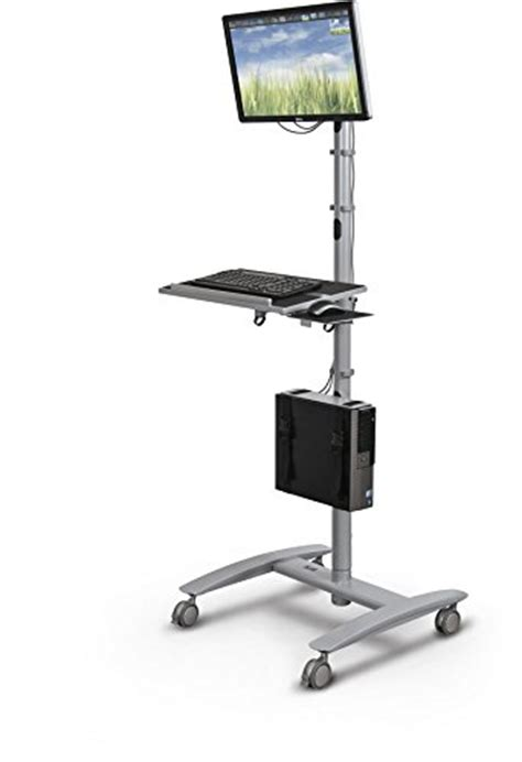 Mobile Computer Station Desk The 5 Best Mobile Computer Workstations Product Reviews And Ratings