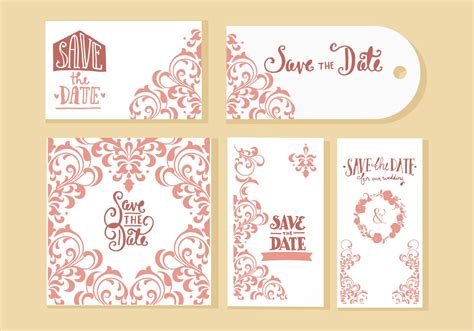 free vector invitation card template free wedding invitation cards vector free