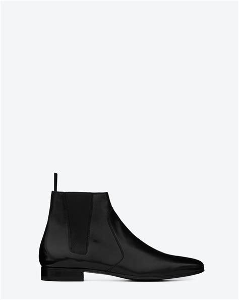 ysl chelsea boots laurent signature chelsea boot in black