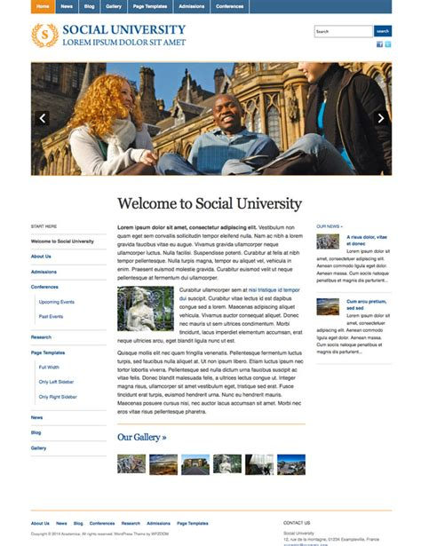 education themes for wordpress free download wordpress education themes free download images