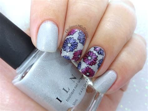 How To Make Nail Designs With Paper - paper flowers nail ordinarymisfit