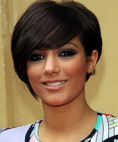 hairstyles for round faces short short haircuts for round faces wardrobelooks com