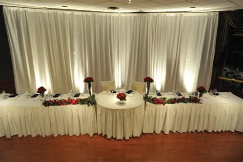 Wall Drapes Party Pleasers Services