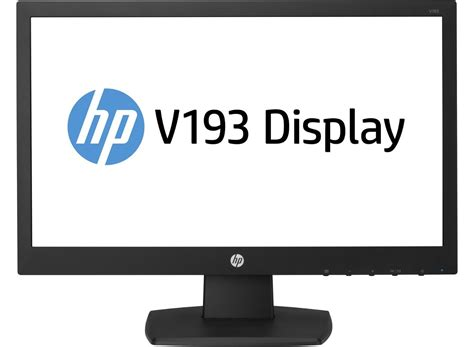 Hp V193b Monitor Led monitor hp v193b led 18 5 1366 x 768 wide screen 75