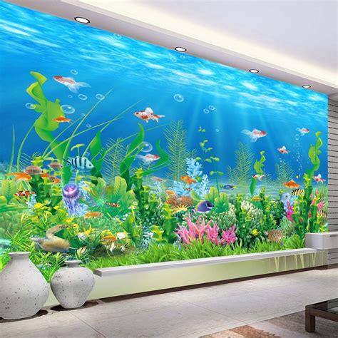 aquarium wall mural cuisine fileat work on aquarium muraljpg wikimedia mons aquarium mural design aquarium murals