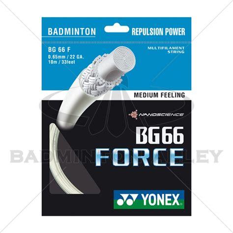 Senar Badminton String Badminton Bg 66 Yonex yonex bg 66 bg66f white badminton string