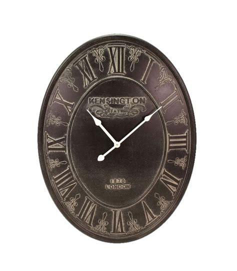 horloge murale antique horloge murale ovale beige wadiga