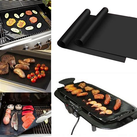 Barbecue Mats by 100x40cm Non Stick Bbq Grill Mat Barbecue Cake Baking Mats