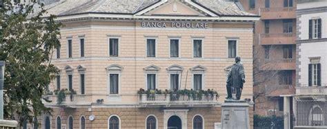 popolare di sondrio sede sospesa la trasformazione in spa delle banche ma la bps